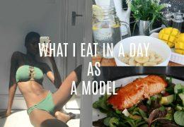 Kako se skozi dan prehranjuje pravi model
