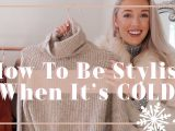 Kako ostati šik, ko je zunaj mraz