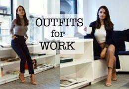 Outfit ideje za službo