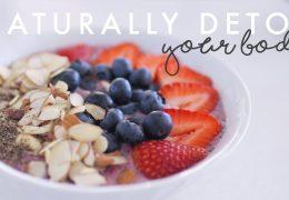 10 nasvetov za naravni detox telesa