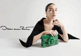 Tu je nova kolekcija torbic Oscarja de la Rente