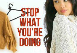 Kako izbrati in negovati pleten pulover