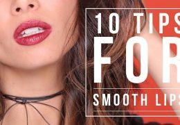 10 nasvetov za mehke in gladke ustnice