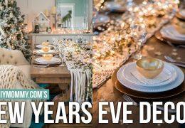 Kako okrasiti dom za Novoletno večerjo oziroma zabavo