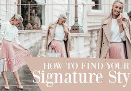 Kako izbrati svoj prepoznavni stil