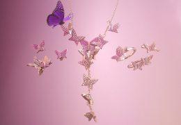 Swarovski za pomlad prisega na motiv metulja